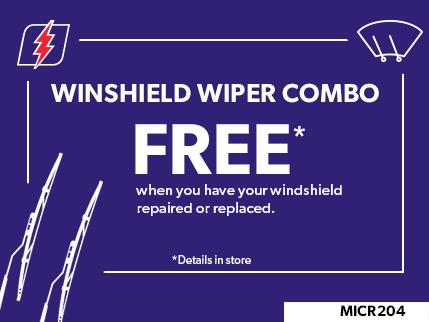 MICR204 - Winshield wiper combo FREE