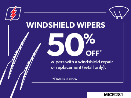 MICR281 - windshield wipers - 50 off